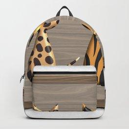 Wild Cats on Safari Backpack