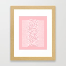 unknown pleasures Framed Art Print