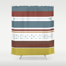 Arrows & Colours II Shower Curtain