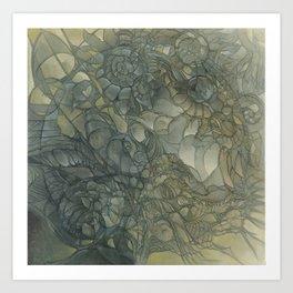 Flower Tank Art Print