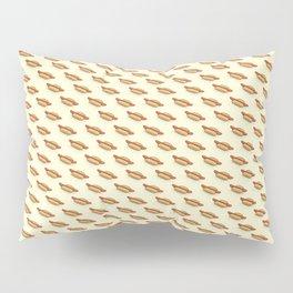 Hot-Dog Pattern Pillow Sham