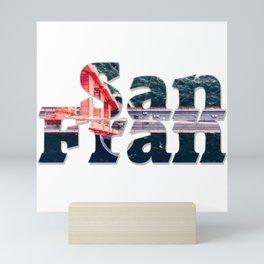 San Fran Mini Art Print