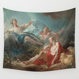 Diana and Endymion Oil Painting by Jean-Honoré Fragonard Wall Tapestry