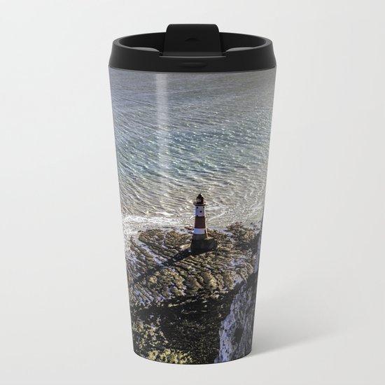 Light House Metal Travel Mug