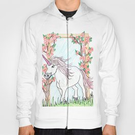 Unicorn and roses Hoody