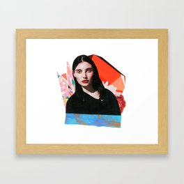 BLOOM 31 Framed Art Print