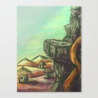 desert Canvas Prints featuring Desert  by Doom