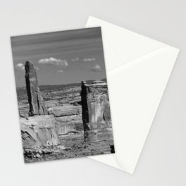 Arches Park Landscape View Stationery Cards
