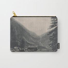Swiss Mountain Lithography Carry-All Pouch