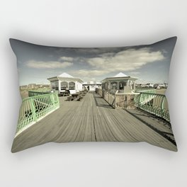 The pier at St Annes on sea Rectangular Pillow