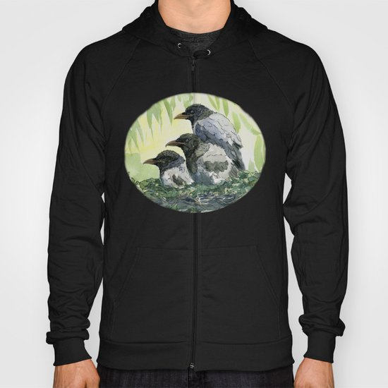 Young ravens A037 Hoody
