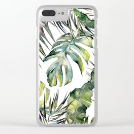 TROPICAL GARDEN 2 Clear iPhone Case