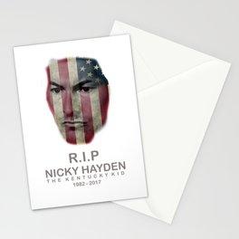 RIP NICKY HAYDEN Stationery Cards