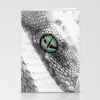 snake Stationery Cards featuring Snake by donotseemeart