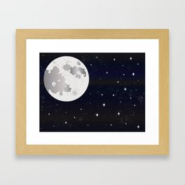 GIVE ME SOME SPACE Framed Art Print