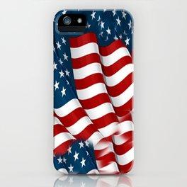 "ORIGINAL  AMERICANA FLAG ART ""STARS N' BARS"" PATTERNS iPhone Case"