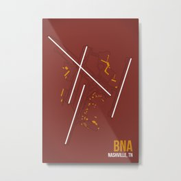 BNA Metal Print