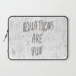 Equations Are Fun Laptop Sleeve