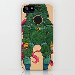 Green Octopous iPhone Case