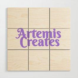 Artemis Creates Main Logo Wood Wall Art