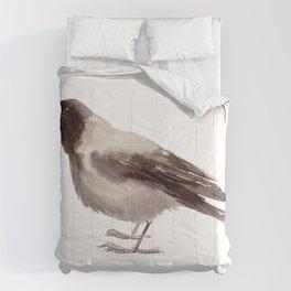 Hooded Crow Comforters