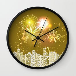 New Years Eve Series  Wall Clock