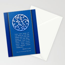 The Drop of Life Stationery Cards