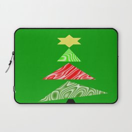 The Topsy Turvy Christmas Tree Laptop Sleeve