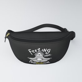 Yoga Design: Philoslothical Sloth Fanny Pack