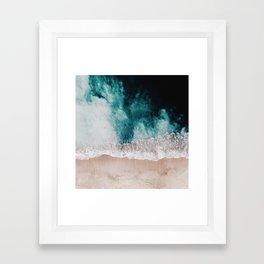 Ocean (Drone Photography) Framed Art Print