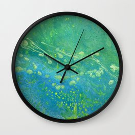 Beach Series Jellyfish Bloom Wall Clock