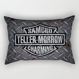 SAMCRO Teller-Morrow of Charming (Sons of Anarchy / Harley-Davidson) Rectangular Pillow
