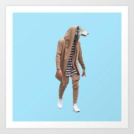 Wolf You Art Print