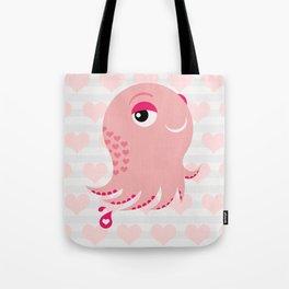 Squid of Love (Valentine's Edition) Tote Bag