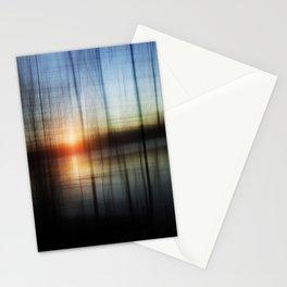 Sunset Blur Stationery Cards