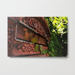 Second Class Delivery Metal Print