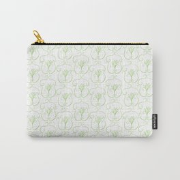 Cartoon Damask Carry-All Pouch