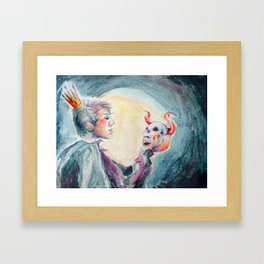 Lily Space Queen of Demons Framed Art Print