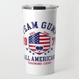 Team Gump Travel Mug