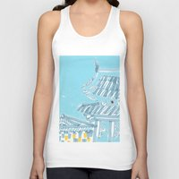 seoul Tank Tops featuring Palace—Changdeokgung, Seoul by spreadtoes