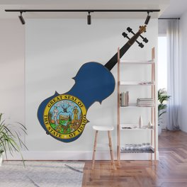 Idaho State Fiddle Wall Mural