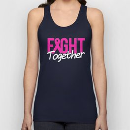 Fight Together Breast Cancer Awareness Unisex Tank Top