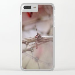 Abstract Branches Clear iPhone Case