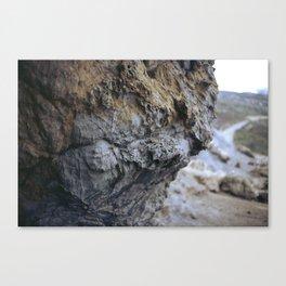 Cave Wall Canvas Print