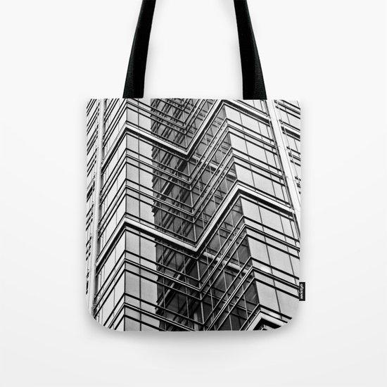 Skyscraper Abstract Tote Bag