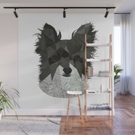 Long Haired Chihuahua Wall Mural