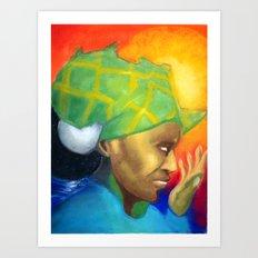 Mama Afrika Art Print