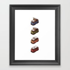 Transformieren Framed Art Print