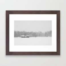 Tranquillity sea Framed Art Print