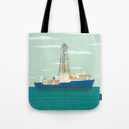 Joides Resolution Tote Bag